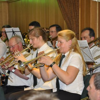 Der Musikverein Dohrgaul spielt auf dem Oster- und Zusatzkonzert 2015