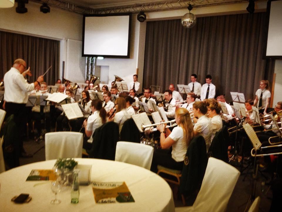 Der Musikverein Dohrgaul spielt in Remscheid beim Frühlingskonzert