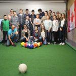 Der Musikverein Dohrgaul spielt Poolball.
