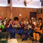 Bei der Karneval Sitzung in Agathaberg