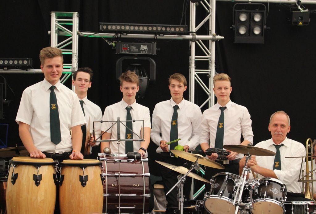 Schlagzeugspende MVD