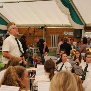 Frühkonzert beim Schützenfest Agathaberg 2017