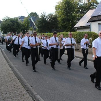Musikverein Dohrgaul beim Schützenfest Agathaberg 2017
