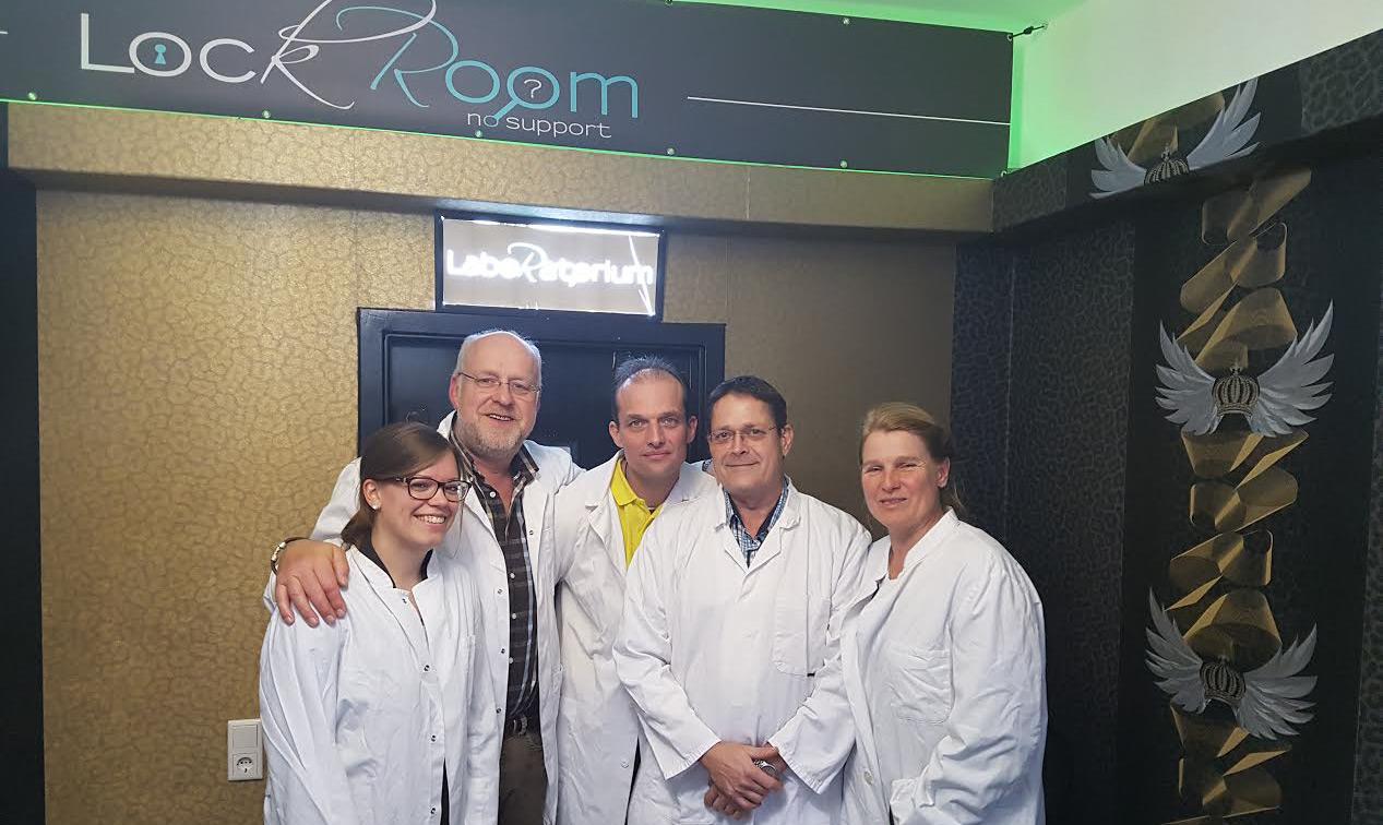 Der Vorstand im Escape Room – sind wir ein gutes Team?