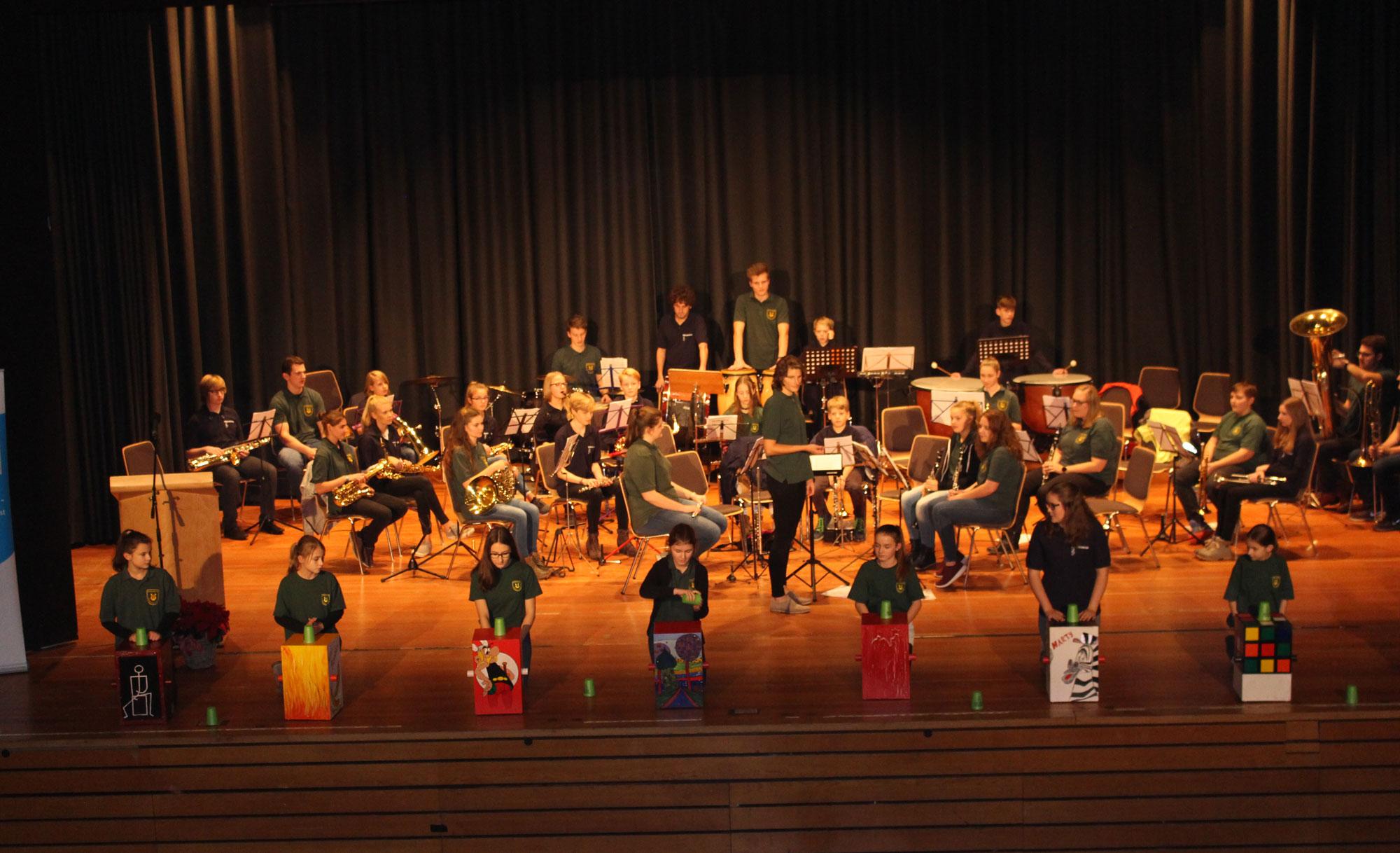 """Zwei Jugendorchester bei """"Unser Dorf hat Zukunft"""""""