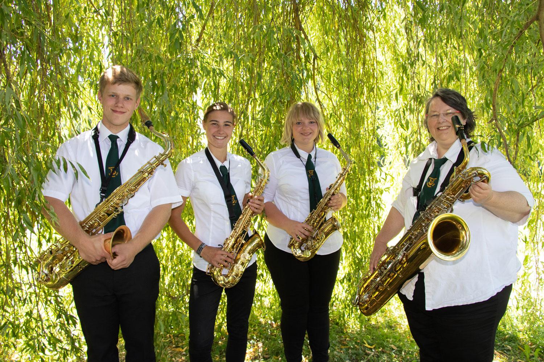 Saxophon Musikverein Dohgraul