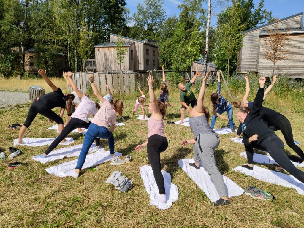 Yoga Frühsport