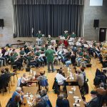 Der Musikverein Dohrgaul im Konzertsaal in Liège