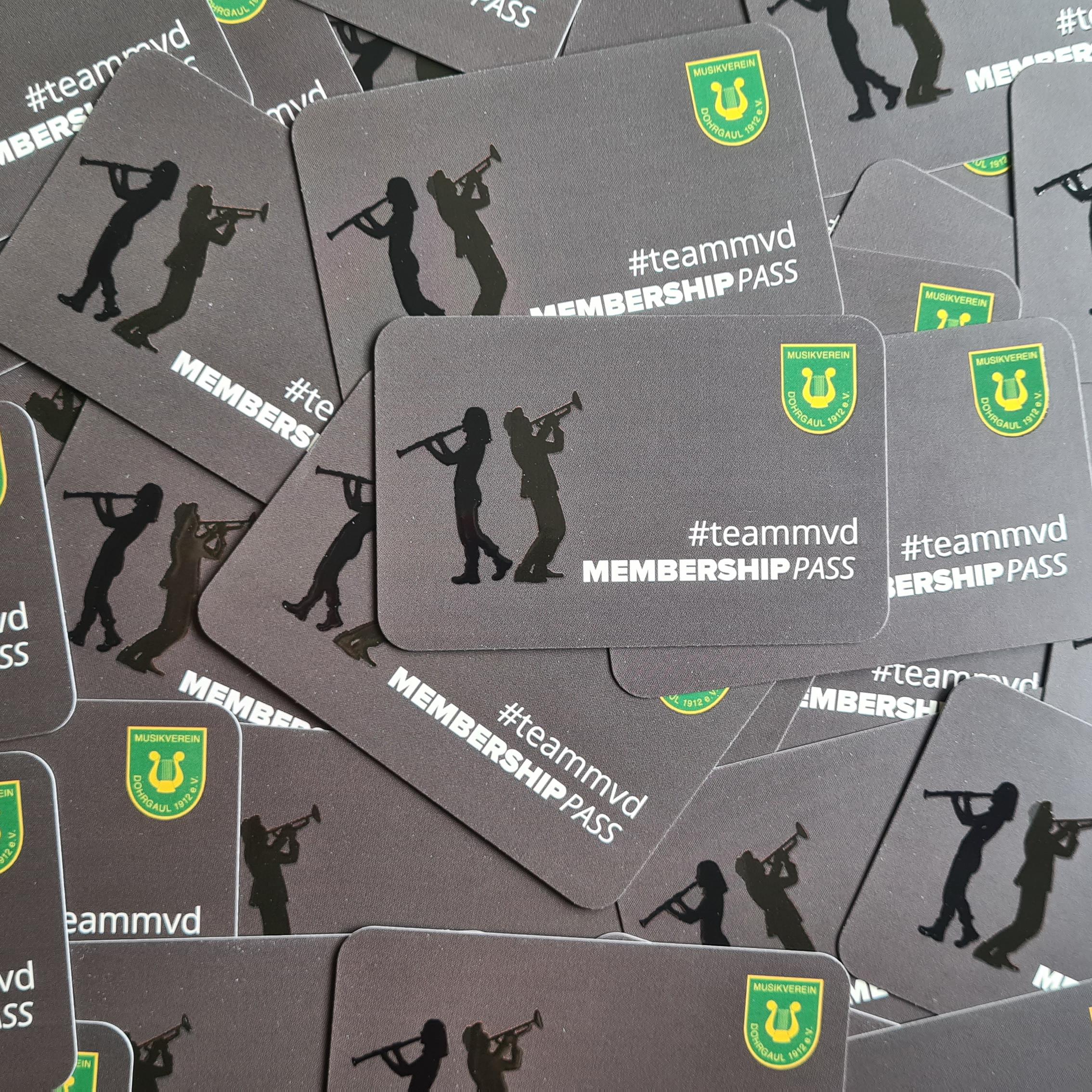 Der neue #teammvd Membership Pass ist da!